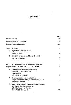 Actes de la Cinqui  me Conf  rence Internationale de Recherche Op  rationnelle  Venise  1969  Fran  ais PDF