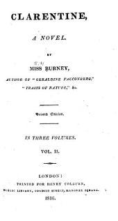 Clarentine: A Novel, Volume 2