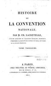 Histoire de la Convention nationale: Volume4