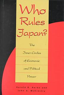 Who Rules Japan  Book