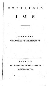 Ion ; recensuit Godofredus Hermannus