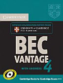 Cambridge BEC  Self study Pack  Student s Book with Answers and Audio CD  Vantage 4 PDF