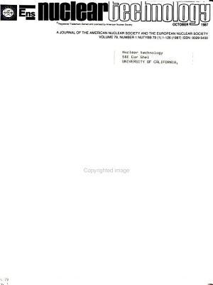 Nuclear Technology PDF
