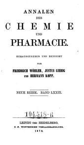 Annalen der Pharmacie: Band 155