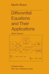 Differential Equations and Their Applications: Short Version