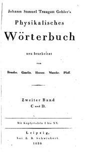 Johann Samuel Traugott Gehler's Physikalisches wörterbunch: Band 2