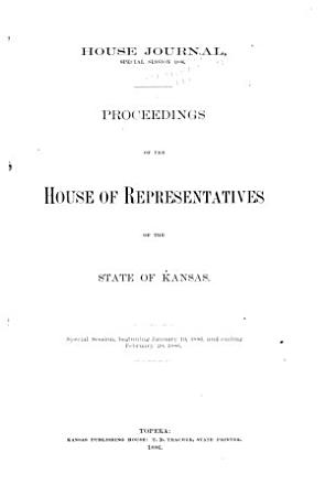 House Journal of the Legislative Assembly of the State of Kansas PDF