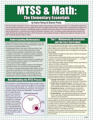 MTSS   Math  The Elementary Essentials