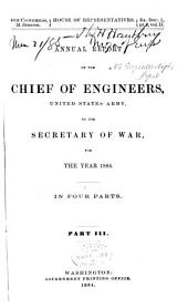 Report of the Chief of Engineers U.S. Army
