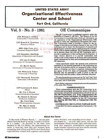 OE Communique PDF