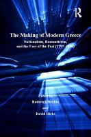 The Making of Modern Greece PDF