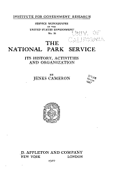 Service monographs of the united states government: Issue 11