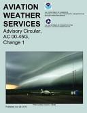 Aviation Weather Services  Advisory Circular  AC 00 45G  Change 1 PDF