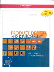 Product Design And Development Book PDF