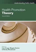 Health Promotion Theory PDF
