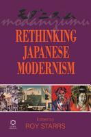 Rethinking Japanese Modernism PDF