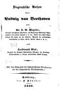 Biographische Notizen   ber Ludwig van Beethoven PDF