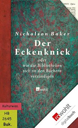 Der Eckenknick PDF