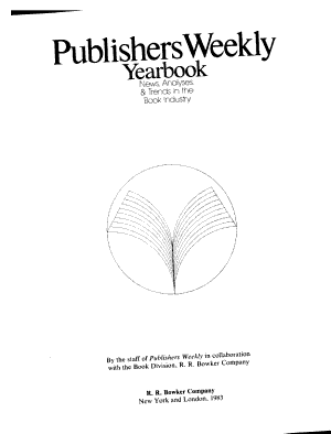 Publishers Weekly Yearbook PDF
