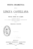 Nueva gram  tica de la lengua castellana PDF