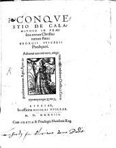 Conqvestio De Calamitoso In Praesens rerum Christianarum statu, Georgii VVicelii Presbyteri