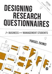 Designing Research Questionnaires for Business and Management Students