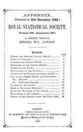 Journal of the Royal Statistical Society. Series A (General).: Volume 57