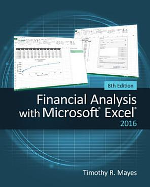 Financial Analysis with Microsoft Excel 2016  8E PDF
