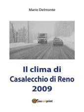Il clima di Casalecchio di Reno 2009
