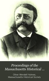 Proceedings of the Massachusetts Historical Society: Volume 44