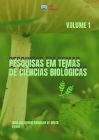PESQUISAS EM TEMAS DE CI  NCIAS BIOL  GICAS   VOLUME 1 PDF