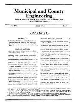 Municipal and County Engineering PDF