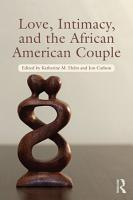 Love  Intimacy  and the African American Couple PDF