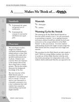 Guided Math Stretch  General Mathematics  A   Makes Me Think of   PDF