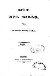 Espíritu del siglo: (1838. 272 p.)