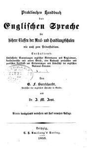 Ausfuhrliches theoretisch praktisches lehrbuch der englischen sprache PDF