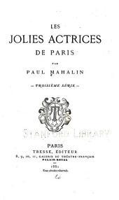 Les jolies actrices de Paris: Volume3