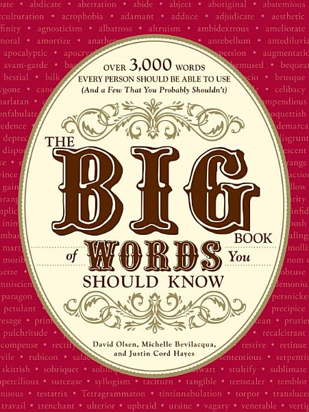 Download The Big Book of Words You Should Know Book