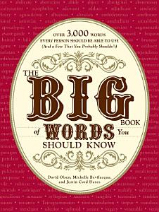 The Big Book of Words You Should Know Book