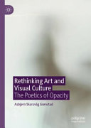 Rethinking Art and Visual Culture