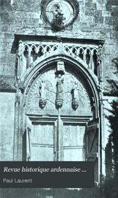 Revue historique ardennaise ...: Volumes13à14