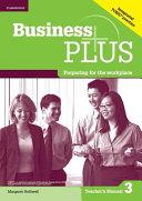 Business Plus Level 3 Teacher s Manual PDF