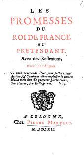 Les Promesses du Roi de France au Prétendant