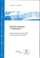 Electronic Democracy PDF