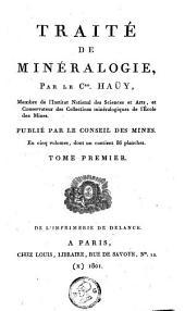Traité de minéralogie: Volume1