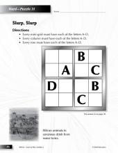Grade 2 Hard Sudoku Puzzles 31–35