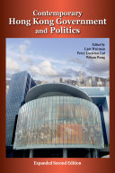 Contemporary Hong Kong Government and Politics
