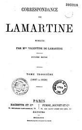 Correspondance de Lamartine