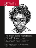 The Routledge Handbook of the Philosophy of Childhood and Children PDF