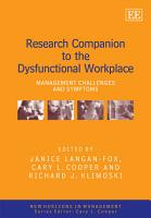 Research Companion to the Dysfunctional Workplace PDF